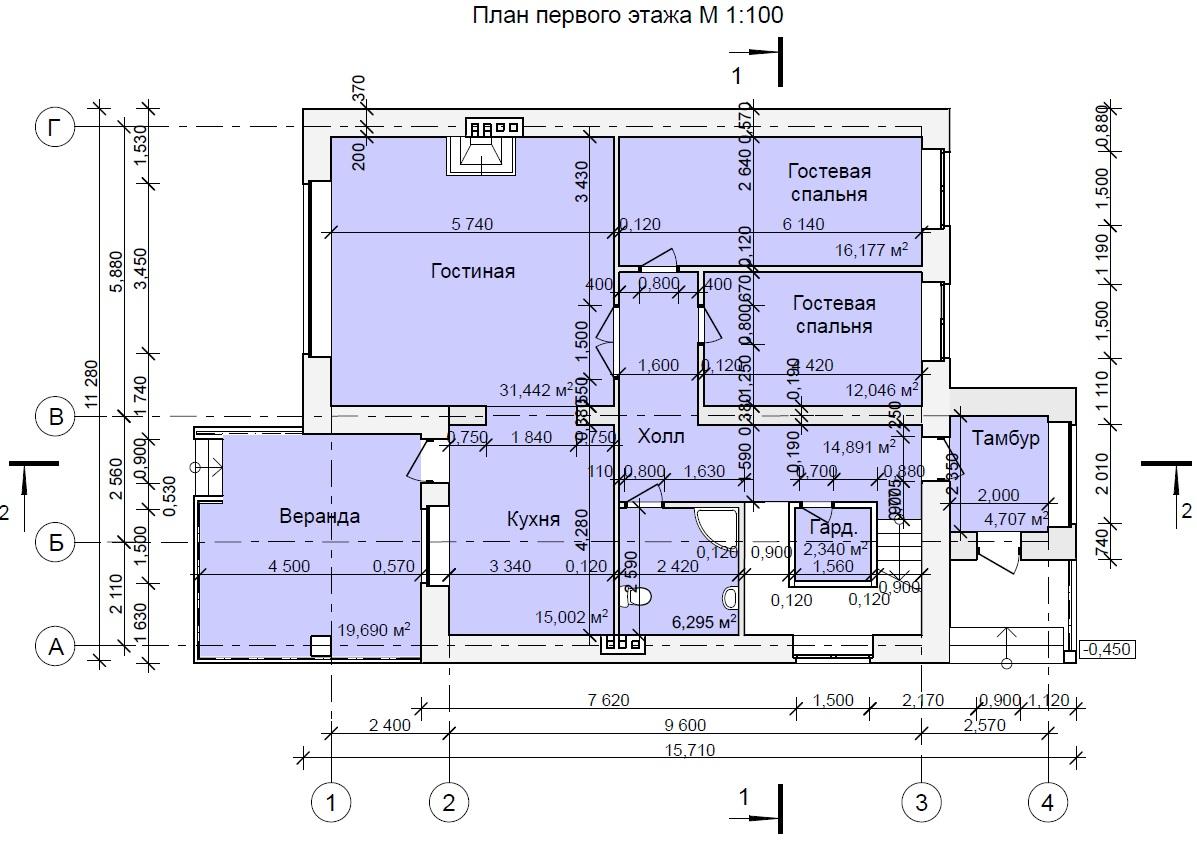 бурцево 1 этаж