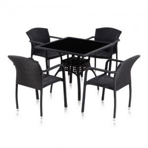 Мебель из ротанга квадрат