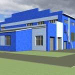 реконструкция цеха завода ЗАРЯ