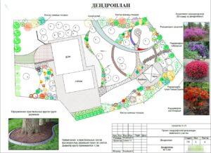 Проект ландшафта в поселке Парковый 5