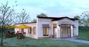 Проект пекарни BAKERY 2