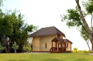 дом из сруба Старатель