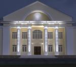 Обновленный фасад библиотеки